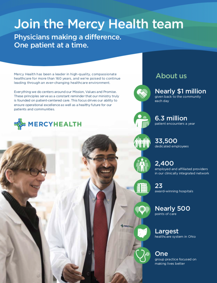 Mercy Health Physician Careers