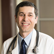 Dr. Robert Rubin, Associate Program Director of Internal Medicine at the Jewish Hospital
