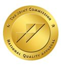 The Joint Commission's Gold Seal of Approval® for Hip & Knee Replacement Certificate of Distinction