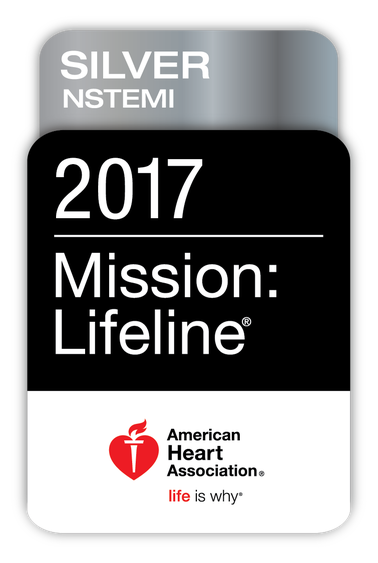 AHA Mission: Lifeline Silver Award for Excellence in Heart Attack Care